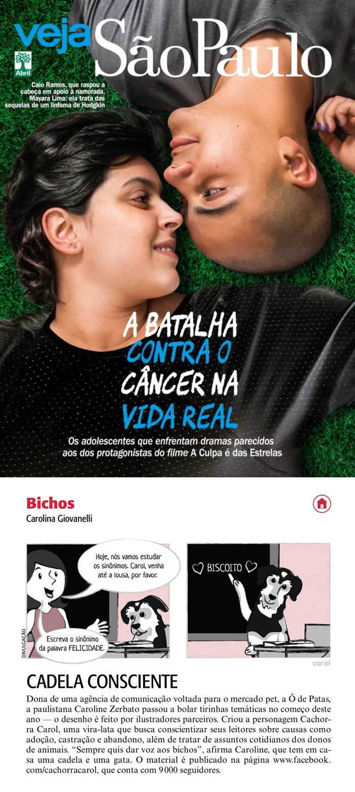 Revista Veja São Paulo, 20 de junho de 2014