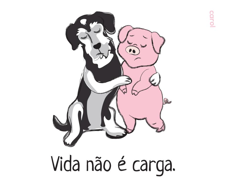 carol_vidanãoécarga